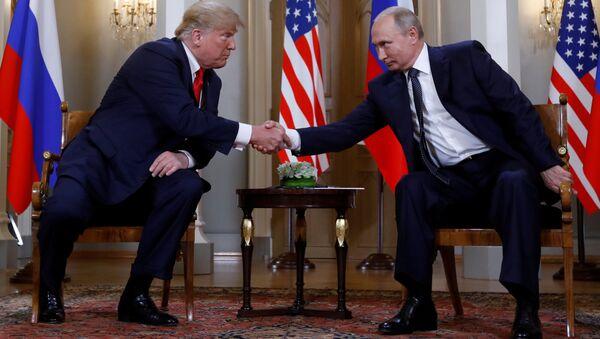 Helsinki Trump-Putin - Sputnik Türkiye