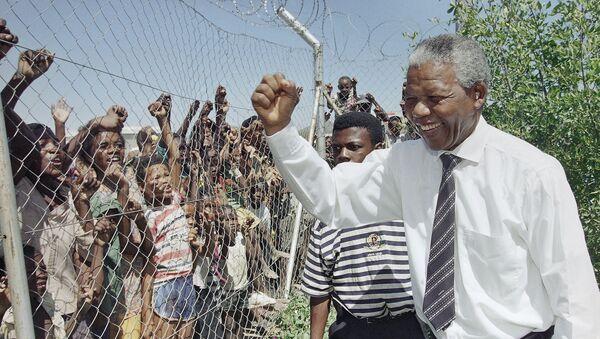 Nelson Mandela'nın 100. doğum günü - Sputnik Türkiye