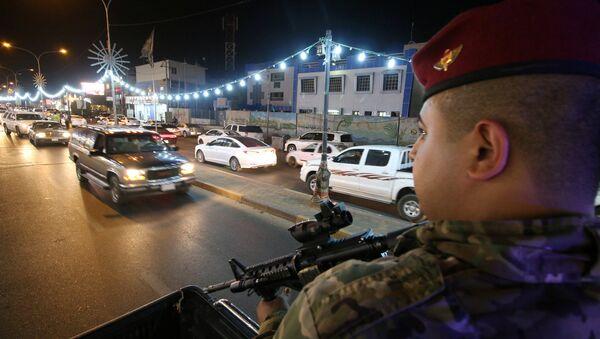 Iraklı güvenlik güçleri-Basra - Sputnik Türkiye