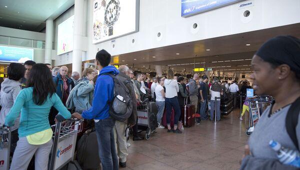 Belçika'nın başkenti Brüksel'deki Zaventem Havalimanı - Sputnik Türkiye