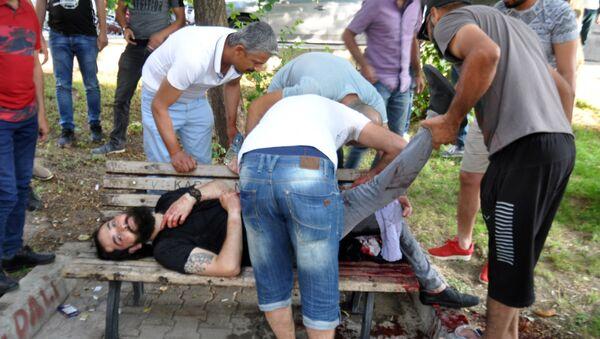 Dövmesi var diye bıçakladılar - Barış Aybar - Sputnik Türkiye