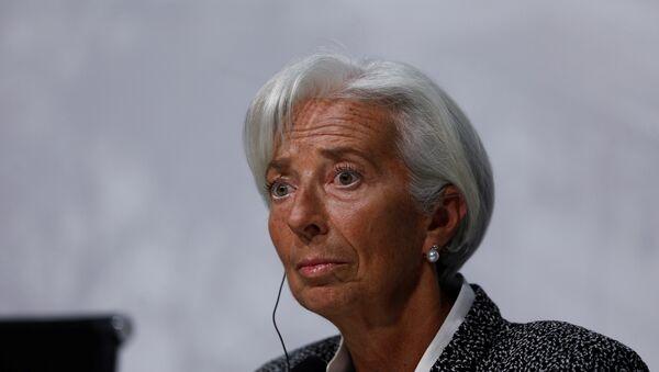 IMF Direktörü Christine Lagarde - Sputnik Türkiye