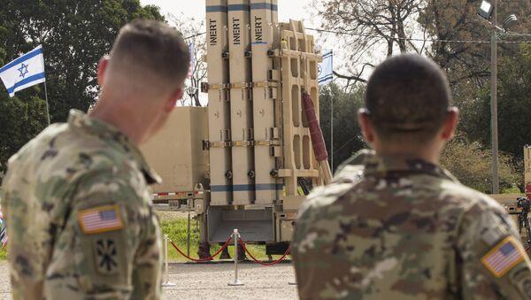 İsrail'in ABD'yle birlikte geliştirdiği yeni orta menzilli füze savunma sistemi Davut Sapanı - Sputnik Türkiye