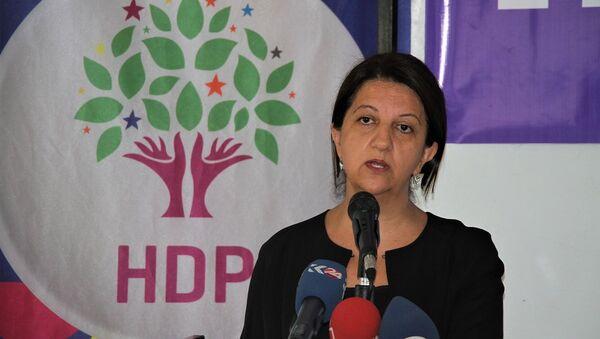 HDP Eş Genel Başkanları Pervin Buldan - Sputnik Türkiye