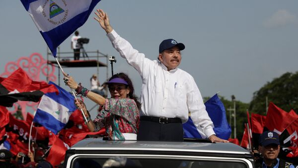 Nikaragua Devlet Başkanı Daniel Ortega - Sputnik Türkiye