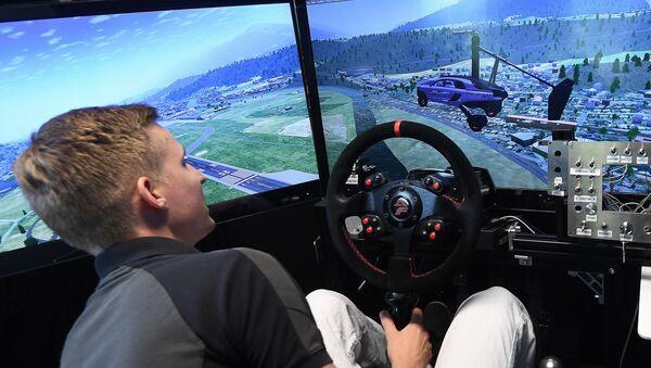 Uçan araba simülasyonu - Sputnik Türkiye