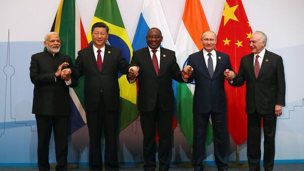 Güney Afrika'da BRICS zirvesi - Sputnik Türkiye