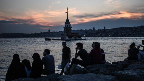 İstanbul- Kız Kulesi - Sputnik Türkiye