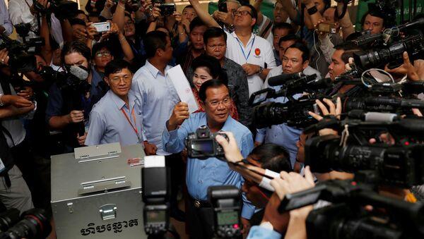 Kamboçya Başbakanı Hun Sen - Sputnik Türkiye