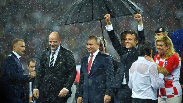 Rusya Dünya Kupası finali - Sputnik Türkiye