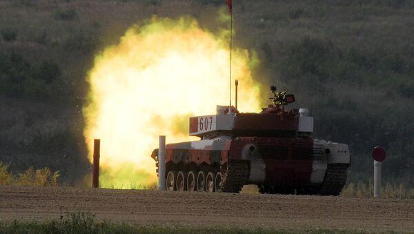 2018 Uluslararası Ordu Oyunları: Tank biatlonu - Sputnik Türkiye