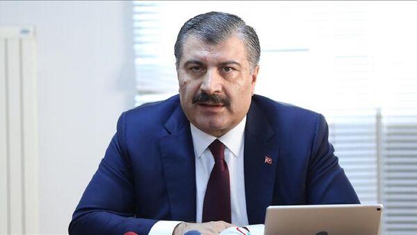 Sağlık Bakanı Fahrettin Koca - Sputnik Türkiye