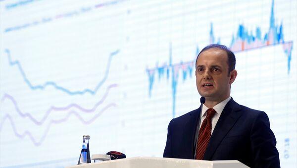 TCMB Başkanı Murat Çetinkaya - Sputnik Türkiye