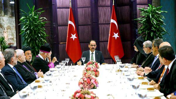 İbrahim Kalın, azınlık cemaatlerinin temsilcileri - Sputnik Türkiye