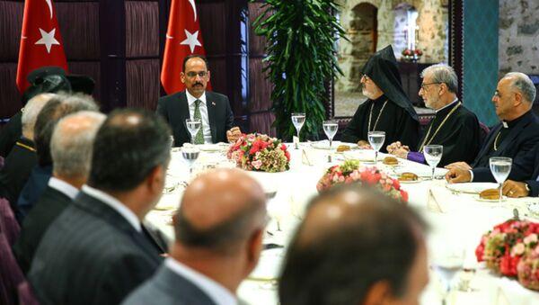 Kalın: En güzel cevabı cemaat vakıfları verdi - Sputnik Türkiye