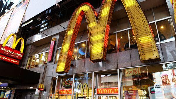 McDonald's fast food restaurant. (File) - Sputnik Türkiye