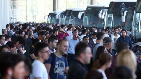 otobüs, firma, otogar - Sputnik Türkiye