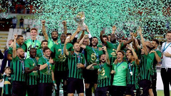 Akhisarspor kupasını aldı - Sputnik Türkiye