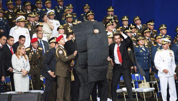 Venezüella Devlet Başkanı Nicolas Maduro'ya suikast girişimi - Sputnik Türkiye