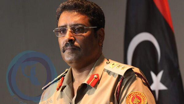Libya ordusu sözcüsü Ahmed Mismari  - Sputnik Türkiye