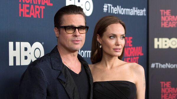 Brad Pitt ve Angelina Jolie - Sputnik Türkiye