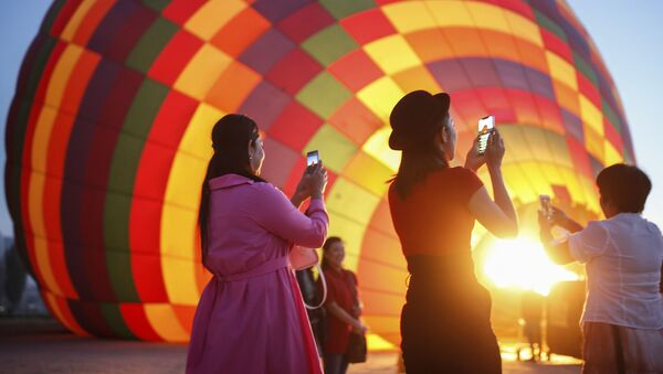 Kapadokya'da balon turu  - Sputnik Türkiye