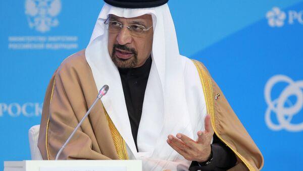 Suudi Arabistan Enerji Bakanı Halid Falih - Sputnik Türkiye
