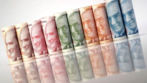 Türk lirası banknotları - Sputnik Türkiye