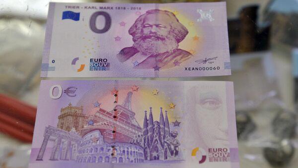 Karl Marx banknotu - Sputnik Türkiye