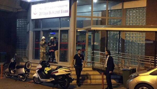 İstanbul Fatih'teki 29 Mayıs Hastanesi'nde yangın - Sputnik Türkiye