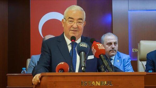 İstanbul Esnaf ve Sanatkarlar Odaları Birliği (İSTESOB) Başkanı Faik Yılmaz - Sputnik Türkiye