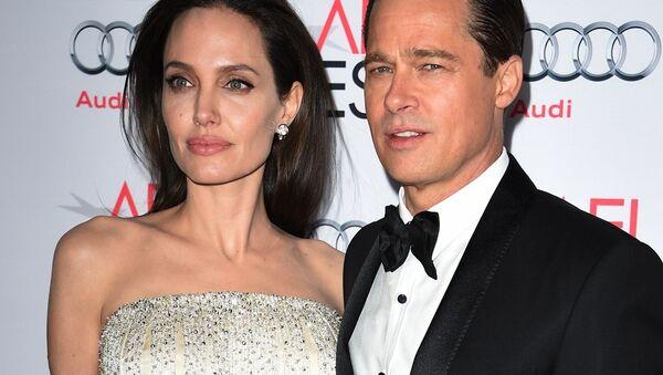 Brad Pitt-Angelina Jolie - Sputnik Türkiye
