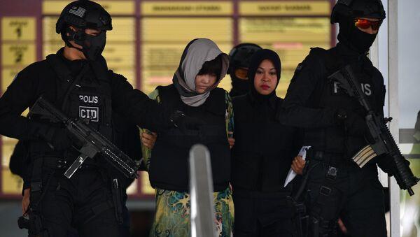Kim Yong-nam'ı öldürmekle suçlanan kadınlardan biri olan Vietnamlı Doan Thi Huong - Sputnik Türkiye
