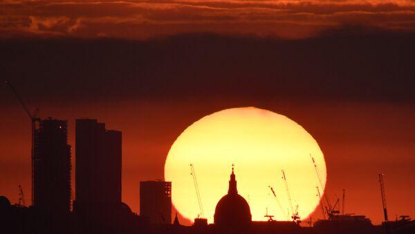 Londra günbatımı - Sputnik Türkiye