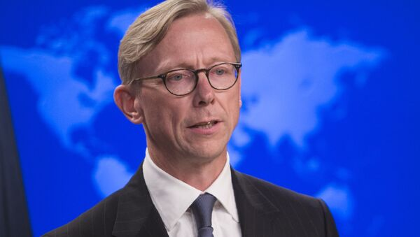 ABD'nin İran özel temsilcisi Brian Hook - Sputnik Türkiye