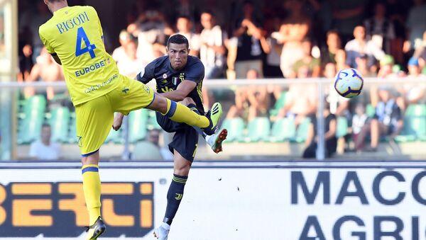 Ronaldo'lu Juventus galibiyetle başladı - Sputnik Türkiye