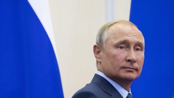 Rusya Devlet Başkanı Vladmir Putin - Sputnik Türkiye