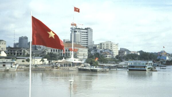 Flag of Vietnam - Sputnik Türkiye
