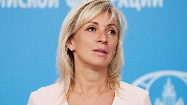 Rusya Dışişleri Sözcüsü Mariya Zaharova - Sputnik Türkiye