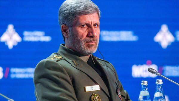 İran Savunma Bakanı Emir Hatemi - Sputnik Türkiye