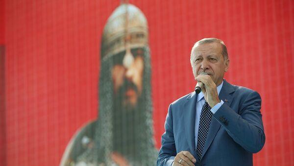 Cumhurbaşkanı Recep Tayyip Erdoğan-Muş - Sputnik Türkiye