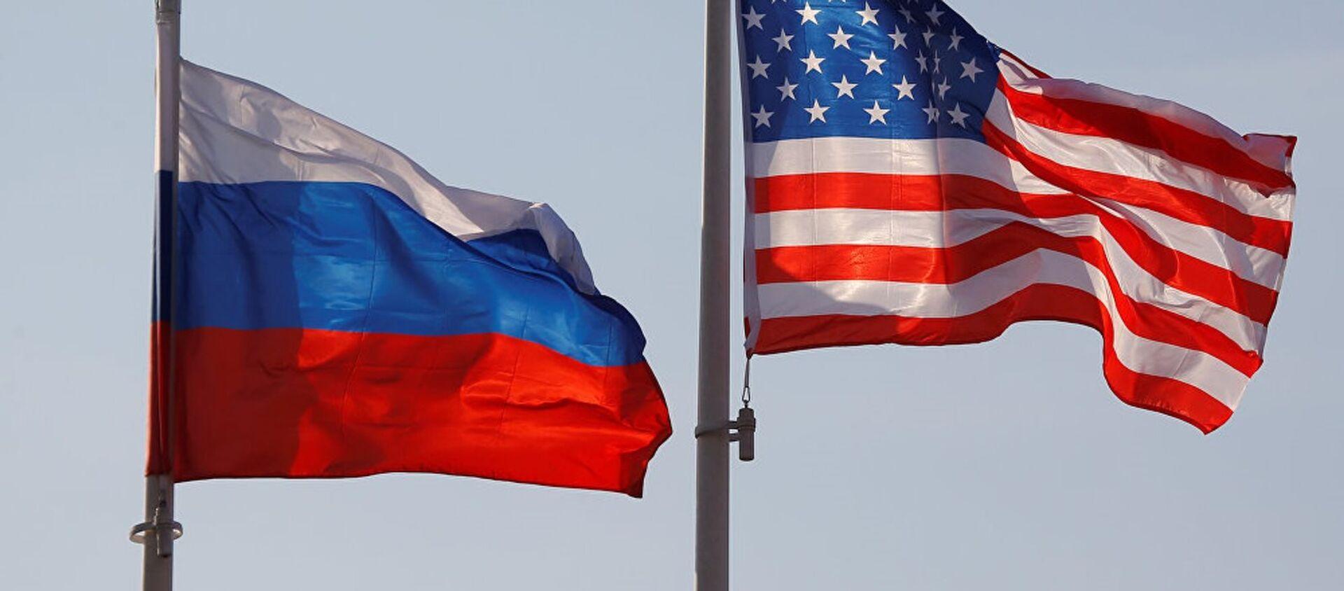 ABD-Rusya bayrakları - Sputnik Türkiye, 1920, 23.04.2021