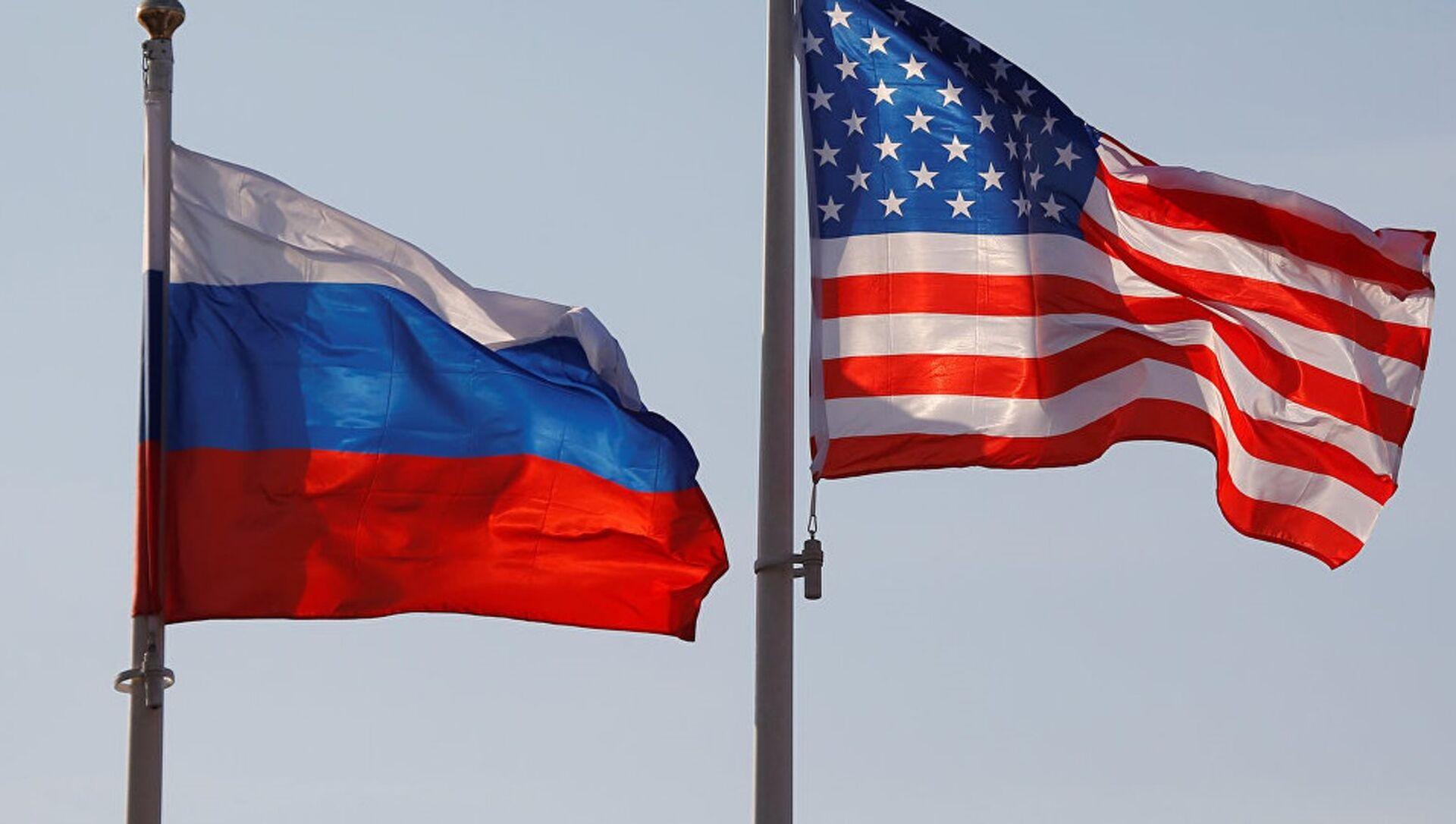 ABD-Rusya bayrakları - Sputnik Türkiye, 1920, 21.04.2021