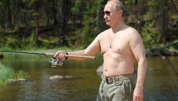 Rusya Devlet Başkanı Vladimir Putin, haftasonu tatili için Tuva'da - Sputnik Türkiye