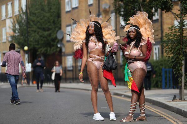 Londra'da Notting Hill Karnavalı - Sputnik Türkiye