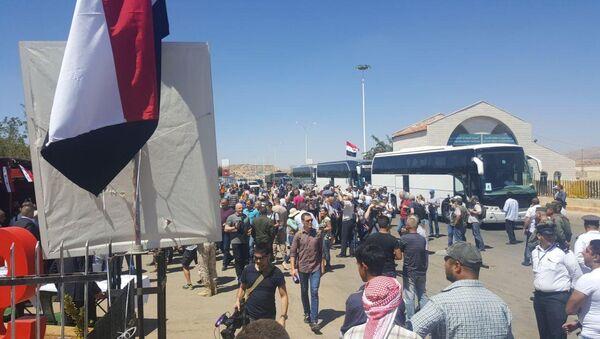 Lübnan'daki Suriyeli mülteciler - Sputnik Türkiye