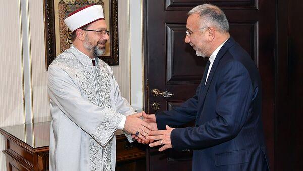 İran'ın Ankara Büyükelçisinden Diyanet'e ziyaret - Sputnik Türkiye