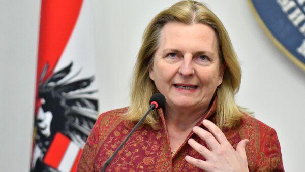 Außenministerin Österreichs Karin Kneissl - Sputnik Türkiye