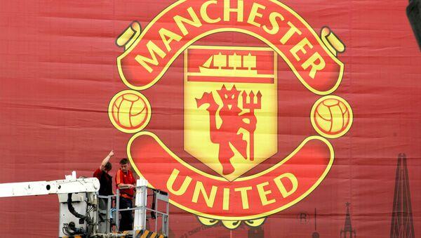 Manchester United Banner - Sputnik Türkiye