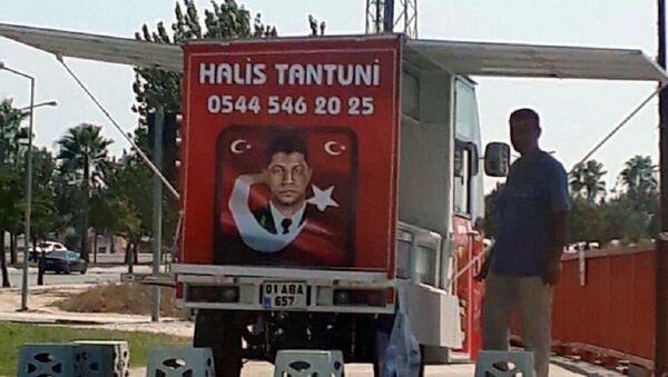 Ömer Halisdemir fotoğrafıyla satış yapan esnafın tezgahına el kondu: Milli duygularla yapmıştım - Sputnik Türkiye